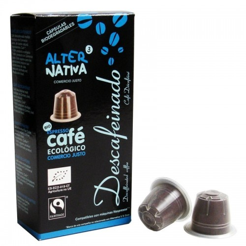cafe descafeinado alternativa 3 10 capsulas bio