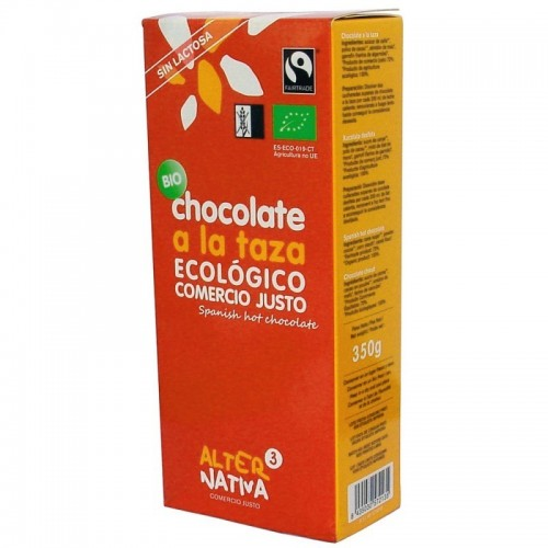 chocolate a la taza alternativa 3 350 gr bio