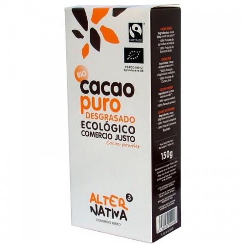 cacao puro desgrasado alternativa 3 150 gr bio