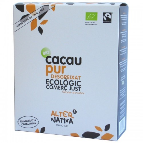 cacao puro desgrasado alternativa 3 500 gr bio