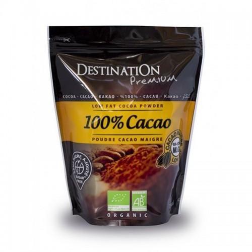 cacao bio sin azucar destination 250 gr