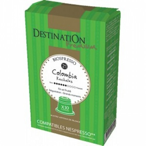 café colombia expreso capsulas destination