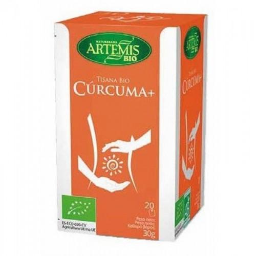 tisana curcuma 20 filtros artemis bio