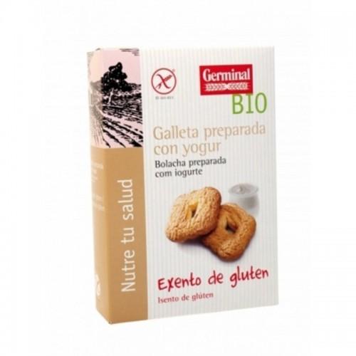 galletas sin gluten preparadas con yogur germinal 250 gr bio