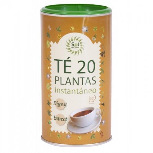 infusion 20 plantas instantanea sol natural 190 gr