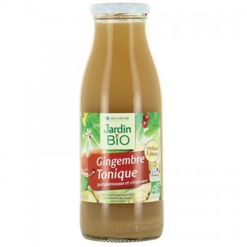 zumo jengibre y limon jardin bio 50 cl