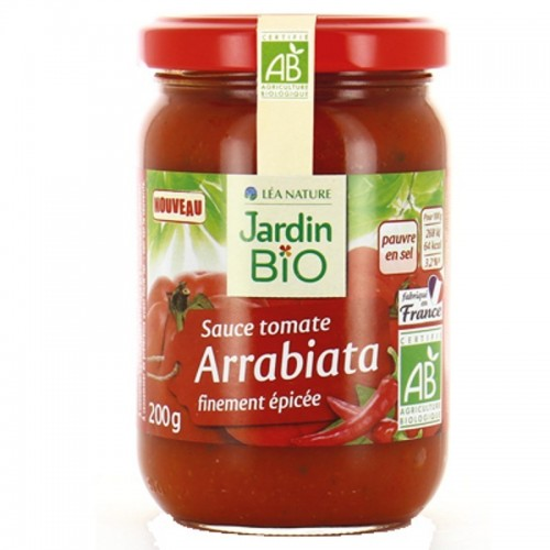 salsa arrabiata jardin bio 200 gr