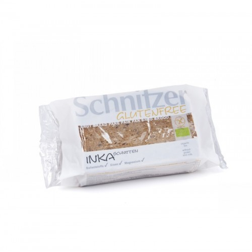 pan inka amaranto sin gluten schnitzer 250 gr bio