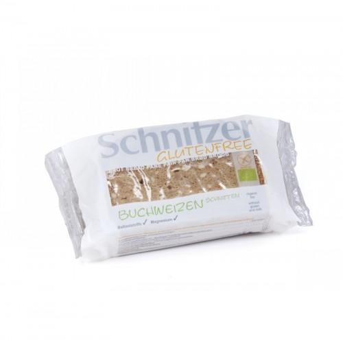 pan trigo sarraceno sin gluten schnitzer 250 gr bio