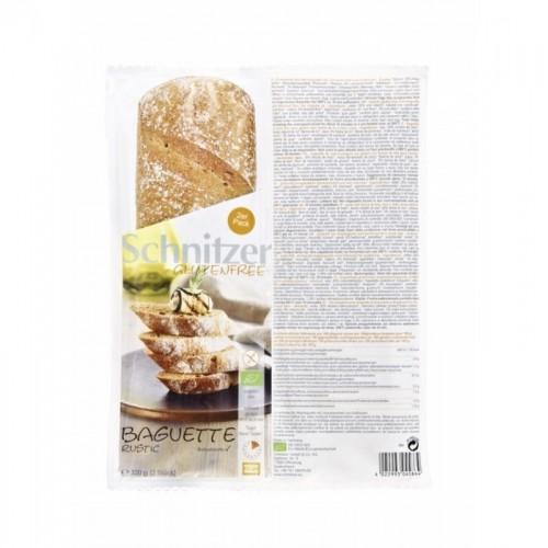 pan baguette rustica sin gluten schnitzer2x160 gr bio