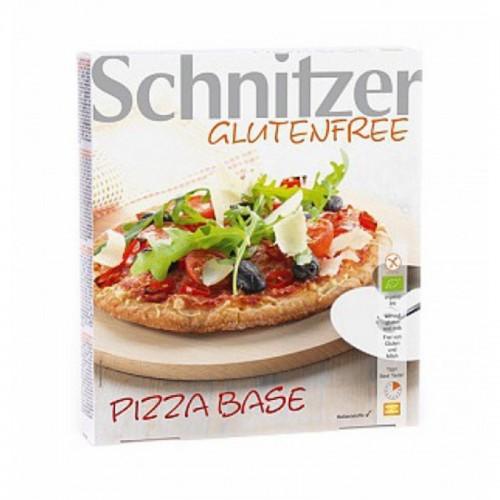 base pizza sin gluten schnitzer 3x100 gr bio