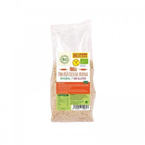 mix para hacer pan sin gluten sol natural 500 gr bio
