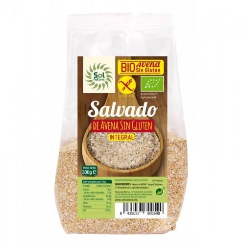 salvado avena sin gluten sol natural 300 gr bio