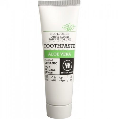 dentifrico menta aloe vera fluor urtekram 75 ml bio