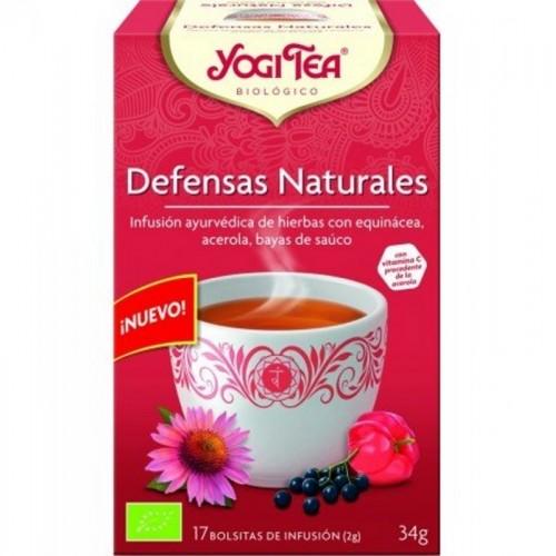 yogi tea defensas naturales 17 bolsas bio
