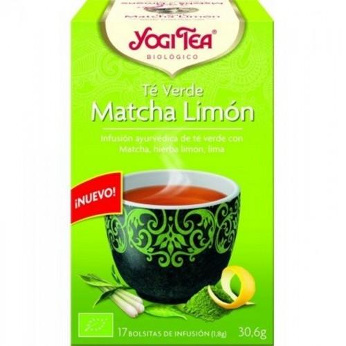 yogi tea te verde matcha limon 17 bolsas bio