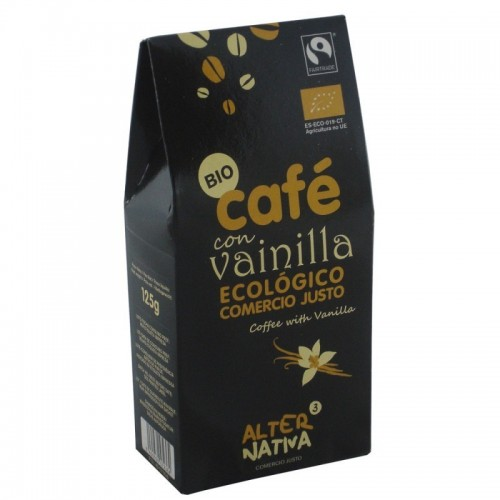 cafe aromatizado vainilla molido alternativa 3 125 gr bio