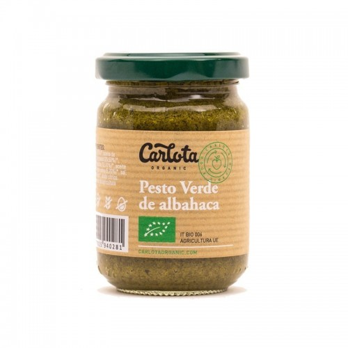 pesto verde carlota 140 gr bio