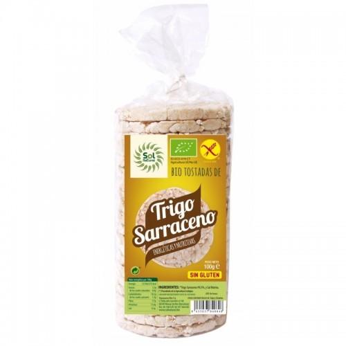 tortas trigo sarraceno sol natural bio
