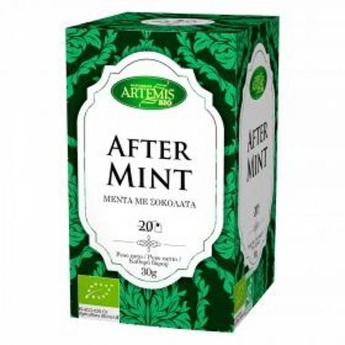 infusion te aftermint 20 filtros artemis 30 gr