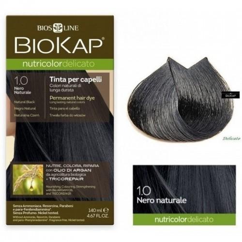 tinte delicato negro natural 100 biokap 140 ml bio