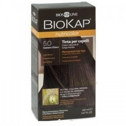 tinte delicato castaño claro natural 50 biokap 140 ml bio