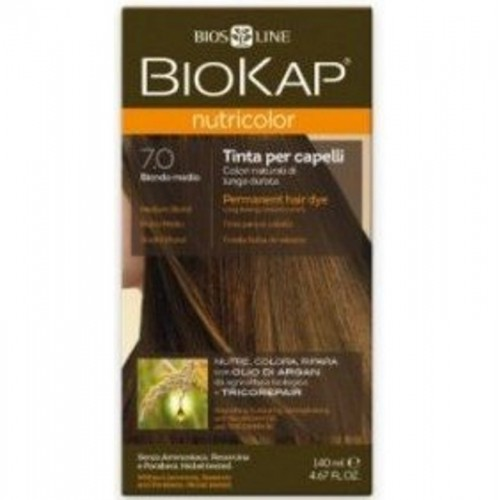 tinte delicato rubio medio natural 700 biokap 140 ml bio