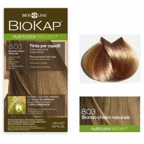 tinte delicato rubio claro natural 803 biokap 140 ml bio