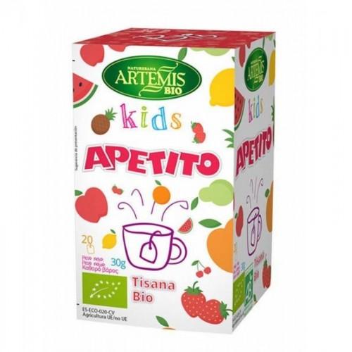 tisana kids apetito 20 filtros artemis bio