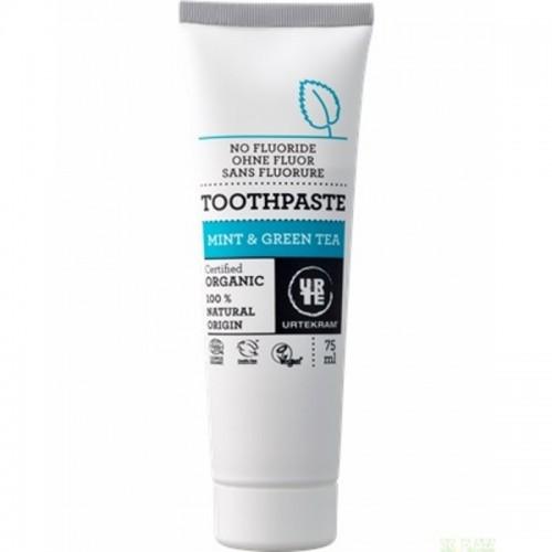 dentifrico menta te verde urtekram 75 ml bio
