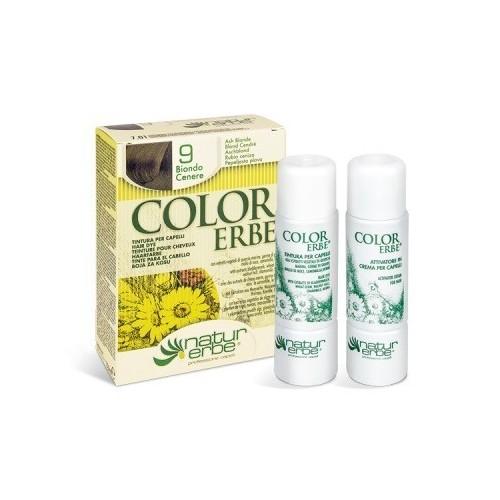 tinte rubio ceniza nº 9 color erbe