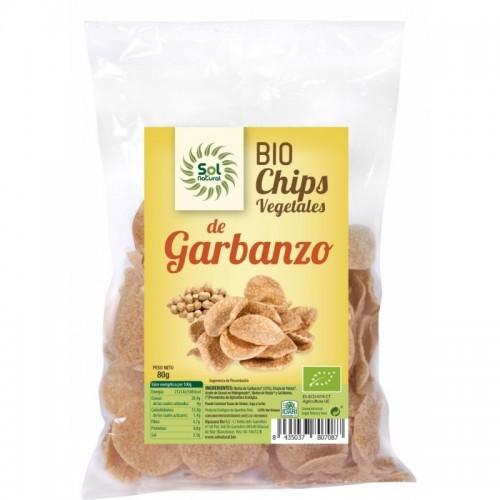 chips garbanzo sol natural 80 gr bio