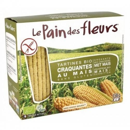 pan flores maiz 150 gr bio
