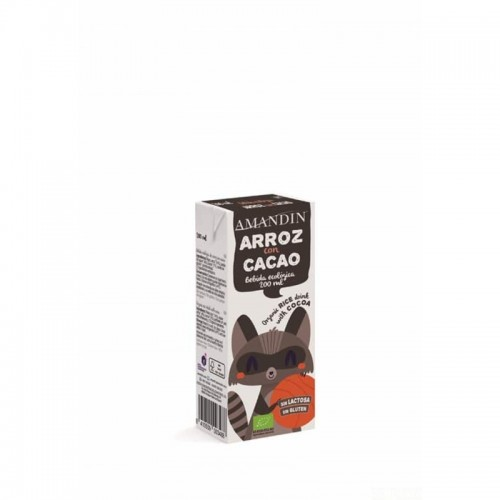 mini brick infantil arroz cacao amandin 200 ml bio