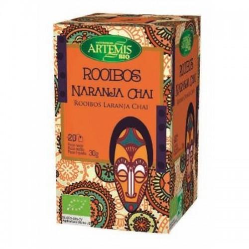 infusion rooibos chai naranja 20 filtros artemis 30 gr