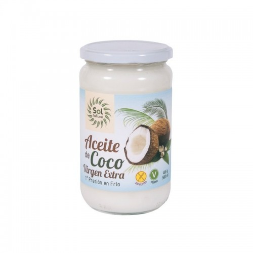 aceite coco virgen extra sol natural 580 ml bio