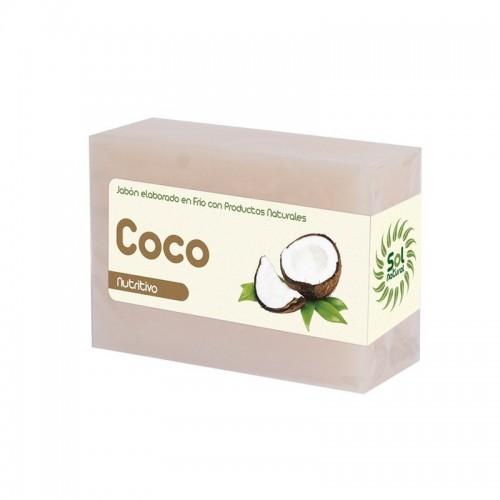 jabon coco sol natural 100 gr