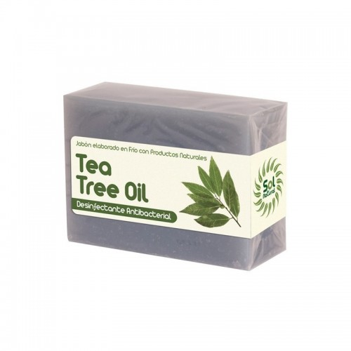 jabon aceite arbol del te sol natural 100 gr