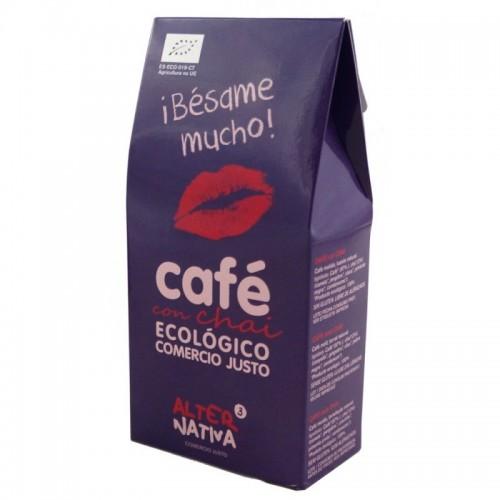 cafe chai molido alternativa 3 125 gr bio besame mucho