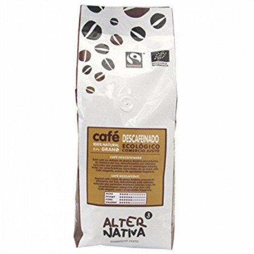cafe descafeinado grano alternativa 3 500 gr bio