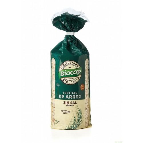 tortitas arroz sin sal biocop 200 gr bio