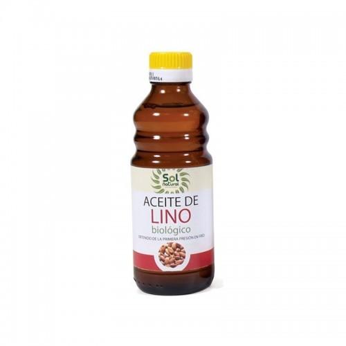 aceite lino sol natural 250 ml bio
