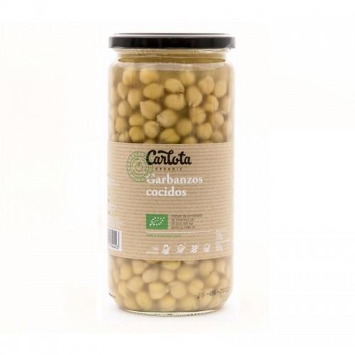 garbanzos cocidos carlota 720 gr bio