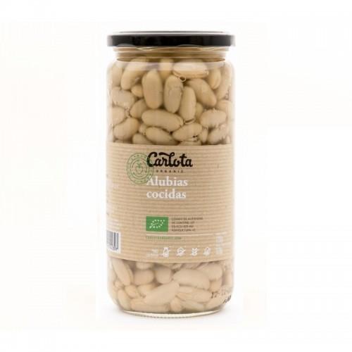 alubias cocidas carlota 720 gr bio