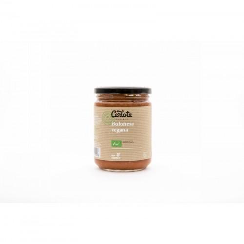 boloñesa vegana carlota 425 gr bio