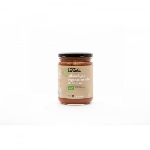 albondigas veganas carlota 425 gr bio