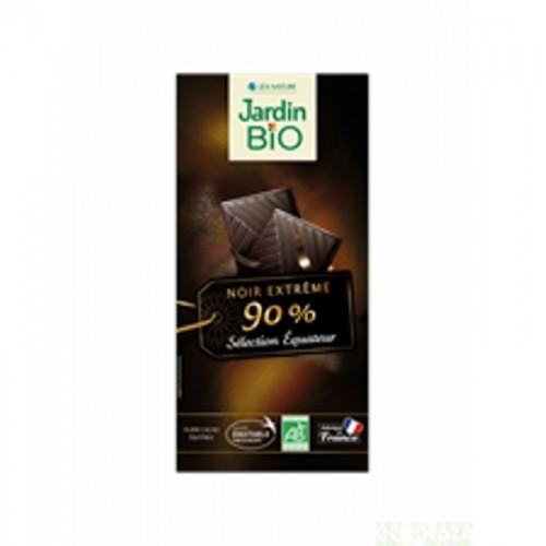 chocolate negro 90 cacao jardin bio 100 gr