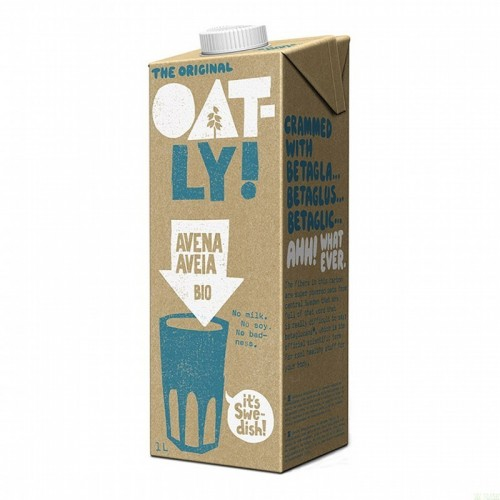 bebida avena original oatly 1l bio
