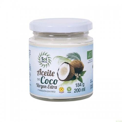 aceite coco sol natural 200 ml bio