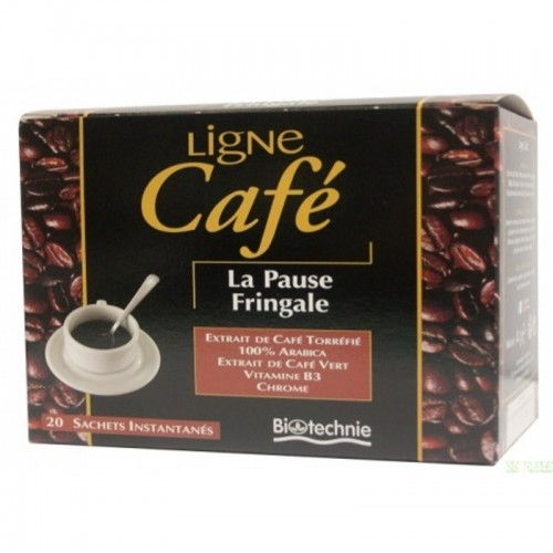infusion cafe biotechnie 20 filtros